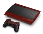Sony PlayStation 3 Super Slim Skin :: Burgundy