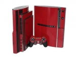 Sony PlayStation 3 Skin :: Burgundy