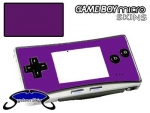 Nintendo Gameboy Micro Skin :: Purple