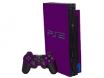 Sony PlayStation 2 Skin :: Purple