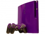 Sony PlayStation 3 Slim Skin :: Purple