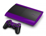 Sony PlayStation 3 Super Slim Skin :: Purple