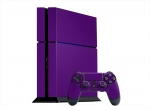 Sony PlayStation 4 Skin :: Purple