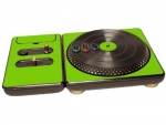 DJ Hero for the PS2, PS3, and 360 Skin :: Yellow Green