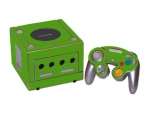 Nintendo GameCube Skin :: Yellow Green