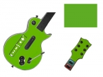 Guitar Hero 3 Les Paul Guitar for the Nintendo Wii Skin :: Yellow Green