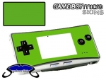Nintendo Gameboy Micro Skin :: Yellow Green