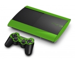 Sony PlayStation 3 Super Slim Skin :: Yellow Green