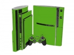 Sony PlayStation 3 Skin :: Yellow Green