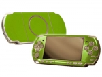 Sony PSP 3000 Skin :: Yellow Green
