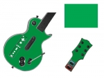 Guitar Hero 3 Les Paul Guitar for the Nintendo Wii Skin :: Green