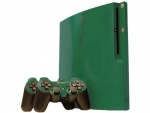 Sony PlayStation 3 Slim Skin :: Green