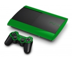 Sony PlayStation 3 Super Slim Skin :: Green