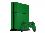 Sony PlayStation 4 Skin :: Green