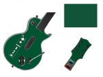 Guitar Hero 3 Les Paul Guitar for the Nintendo Wii Skin :: Forest Green