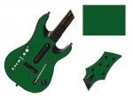 Guitar Hero 5 Genericaster Guitar for the Wii Skin :: Forest Green