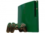 Sony PlayStation 3 Slim Skin :: Forest Green