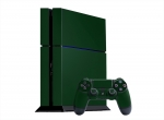 Sony PlayStation 4 Skin :: Forest Green
