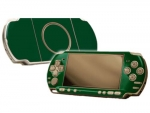 Sony PSP 3000 Skin :: Forest Green