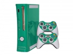 Microsoft Xbox 360 (1st Gen) Skin :: Turquoise