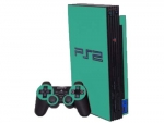 Sony PlayStation 2 Skin :: Turquoise