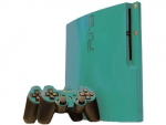 Sony PlayStation 3 Slim Skin :: Turquoise