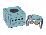 Nintendo GameCube Skin :: Ice Blue