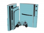 Sony PlayStation 3 Skin :: Ice Blue