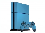 Sony PlayStation 4 Skin :: Ice Blue