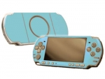 Sony PSP 3000 Skin :: Ice Blue