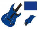 Guitar Hero 5 Genericaster Guitar for the Wii Skin :: Blue