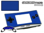 Nintendo Gameboy Micro Skin :: Blue