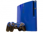 Sony PlayStation 3 Slim Skin :: Blue