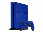 Sony PlayStation 4 Skin :: Blue