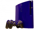 Sony PlayStation 3 Slim Skin :: Cobalt Blue