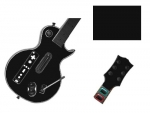 Guitar Hero 3 Les Paul Guitar for the Nintendo Wii Skin :: Matte Black