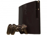 Sony PlayStation 3 Slim Skin :: Matte Black