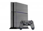 Sony PlayStation 4 Skin :: 3D Carbon Silver