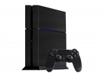Sony PlayStation 4 Skin :: 3D Carbon Black