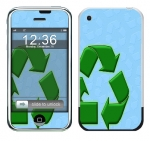 Apple iPhone Skin :: Recycle