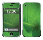 Apple iPhone Skin :: Spiraling Green