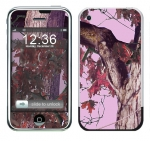 Apple iPhone Skin :: Tree Camo Pink