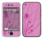 Apple iPhone 3 Skin :: Floating Hearts