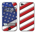 Apple iPhone 4 Skin :: American Flag 1