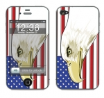 Apple iPhone 4 Skin :: American Flag 3