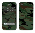 Apple iPhone 4 Skin :: Camo Green