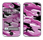 Apple iPhone 4 Skin :: Camo Pink