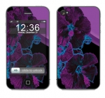 Apple iPhone 4 Skin :: Cosmic Flowers 1