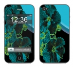Apple iPhone 4 Skin :: Cosmic Flowers 2