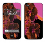 Apple iPhone 4 Skin :: Cosmic Flowers 3